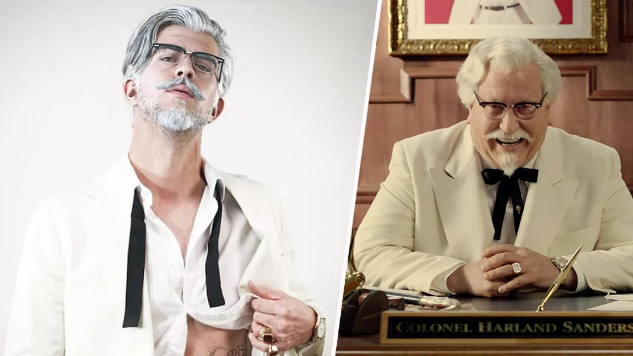 KFC's Colonel Sanders is now a Instagram hipster and we're