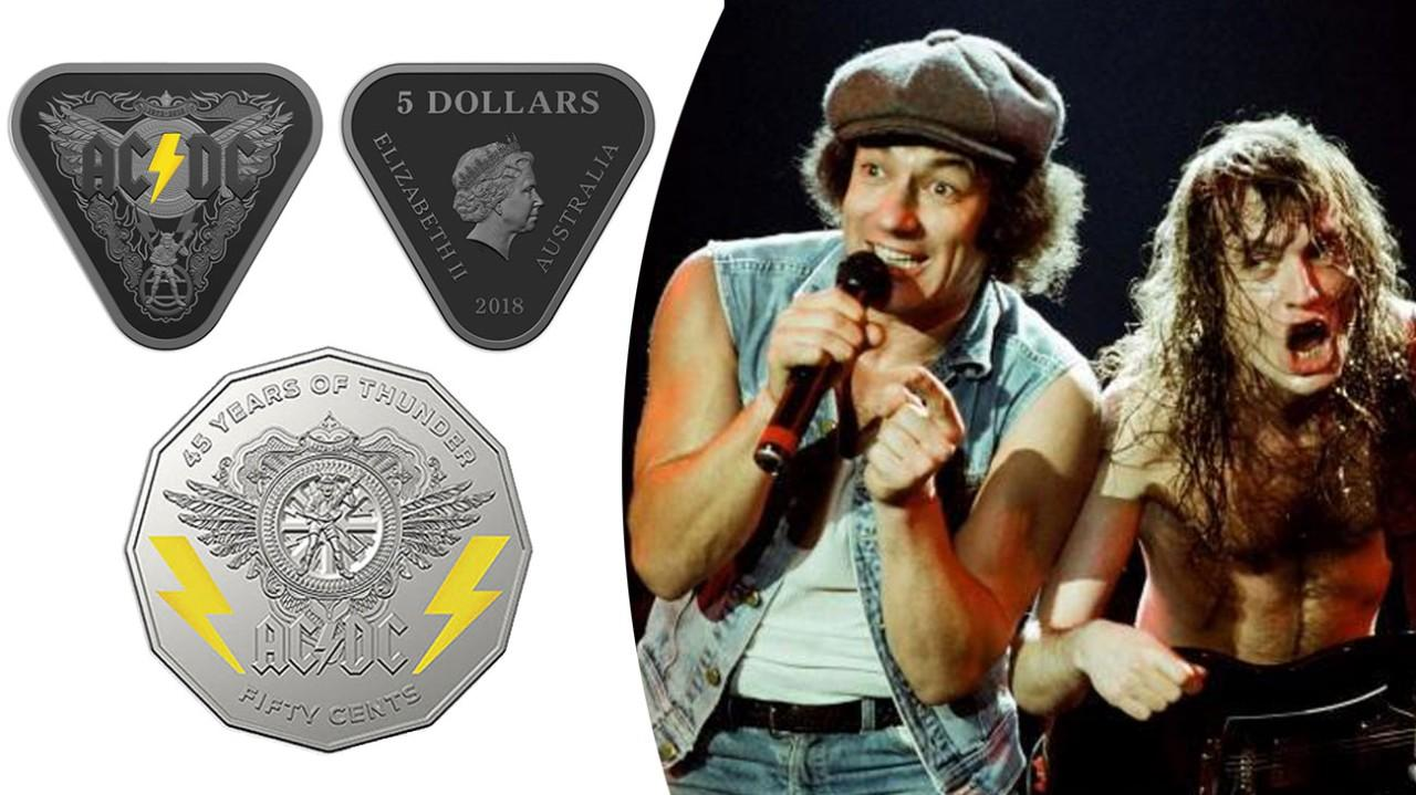 Australian Government to issue 30,000 AC/DC commemorative